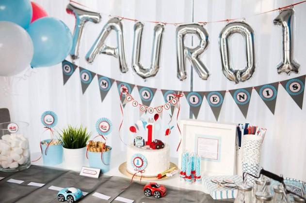 vaiko gimtadienio dekoracijos skruzdes dovanos
