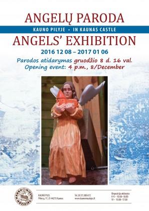 Angelai Kauno pilyje plakatas