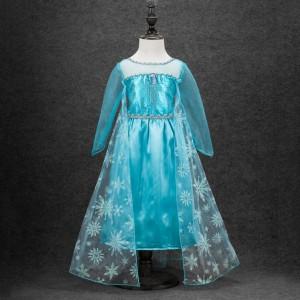 Girls-Cosplay-Dresses-font-b-Kids-b-font-Princess-Clothing-Anna-Elsa-font-b-Costume-b