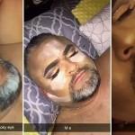 """Savo kietai mieganti tėtį mergina pavertė tikra """"gražuole"""": pamatykite jo reakciją pabudus"""