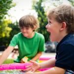 Kaip mokyti vaikus bendrauti?