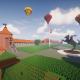 """Moksleiviai atkūrė Oginskio dvarą, ateities Kaišiadorius ir Kauno pilį """"Minecraft"""" konkurso metu"""